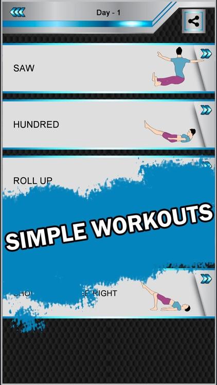 Pilates : Home Fitness Workout screenshot-4