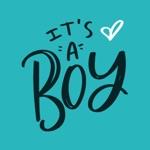 It's a Boy! iMessage Stickers