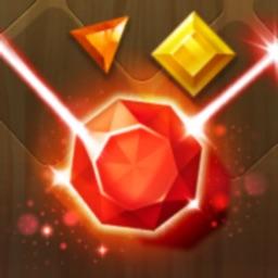 Jewel Match 3 Laser Quest