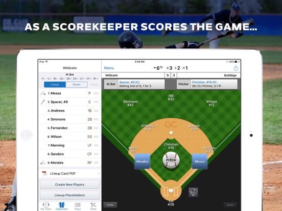 GameChanger Baseball Softball Скриншоты10