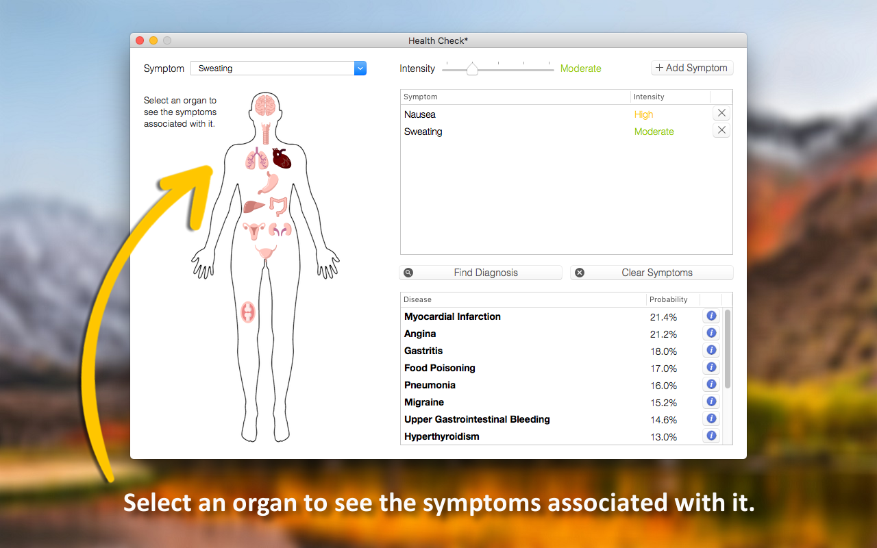 Health Check 1.0 Mac 破解版 健康检查分析软件-麦氪搜(iMacso.com)