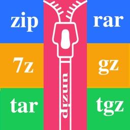 Unzip Or Zip Any Files