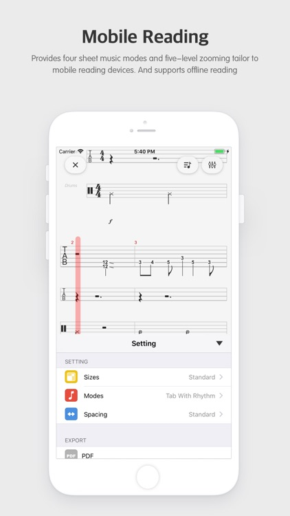 BeckTabs - Sheet Music Player