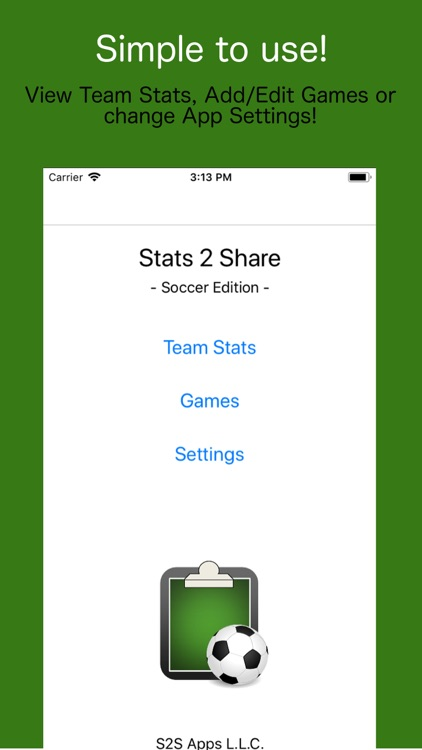 Stats2Share - Soccer screenshot-0