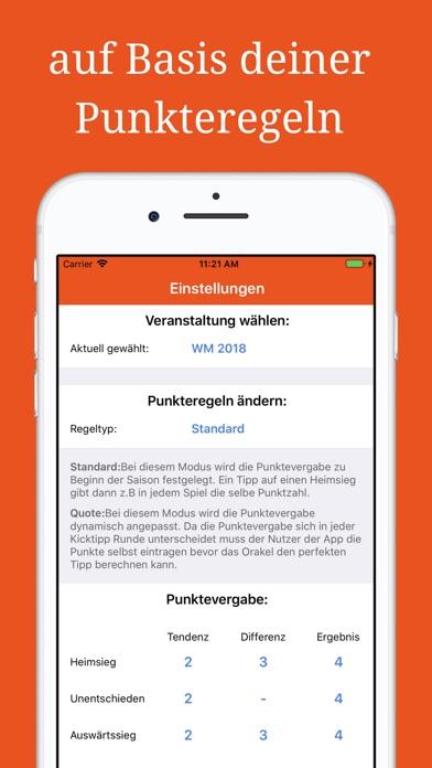 Screenshot for Tipp Orakel in Germany App Store