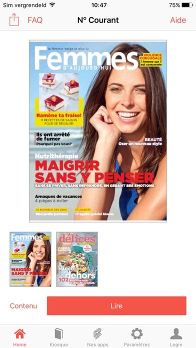 Image of Femmes d'Aujourd'hui for iPhone