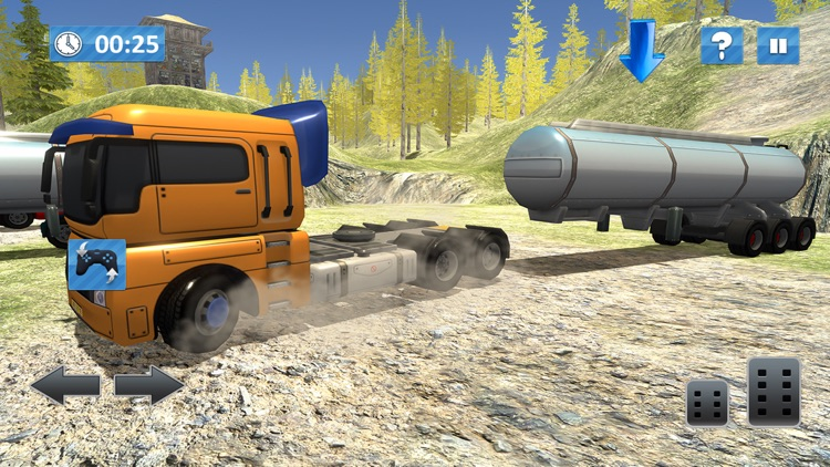 Offroad Oil Tanker Truck Sim screenshot-4