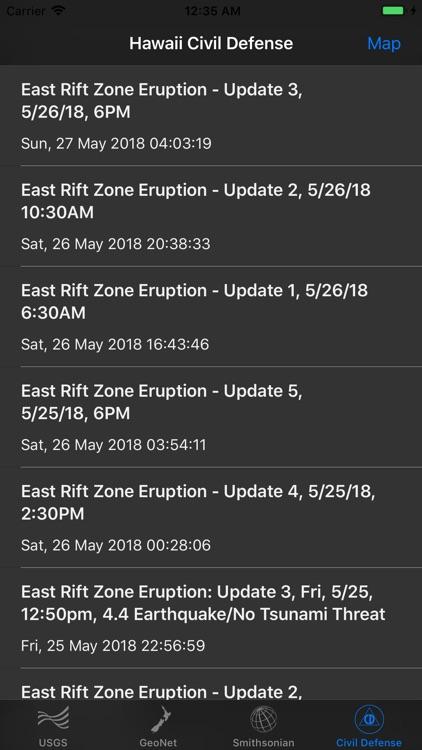 Volcano Updates screenshot-7