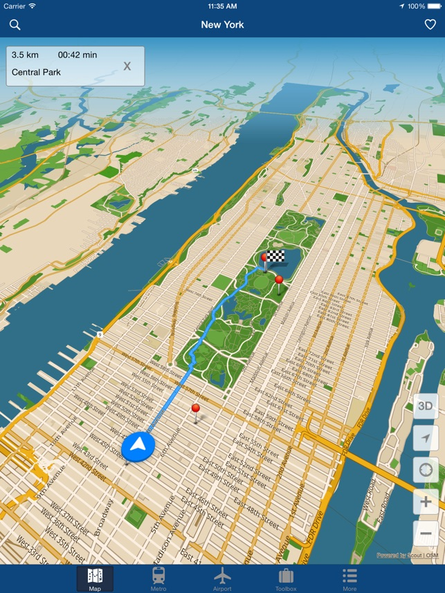 Nyc Subway Map Metropolitan Museum.New York Offline Map On The App Store