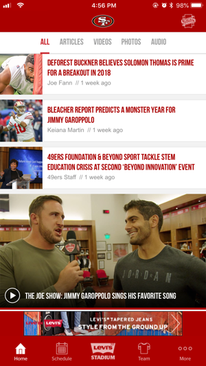 San Francisco 49ers on the App Store