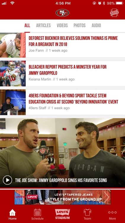 San Francisco 49ers screenshot-2