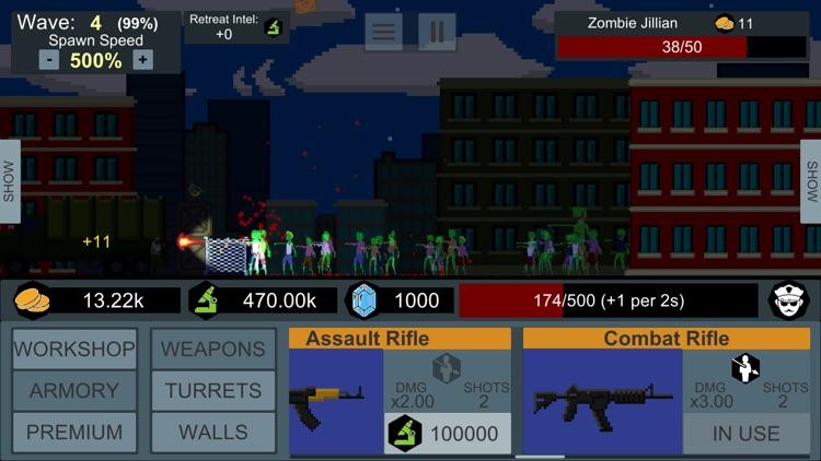 Idle Zombie Defender