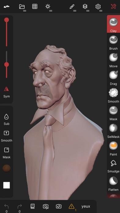 Скриншот №3 к Nomad Sculpt