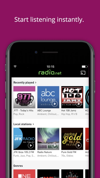 radio.net PRIME screenshot-2