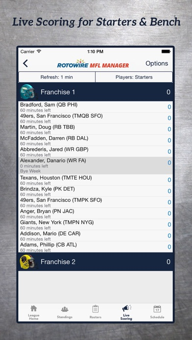 MyFantasyLeague Manager 2018 screenshot 2
