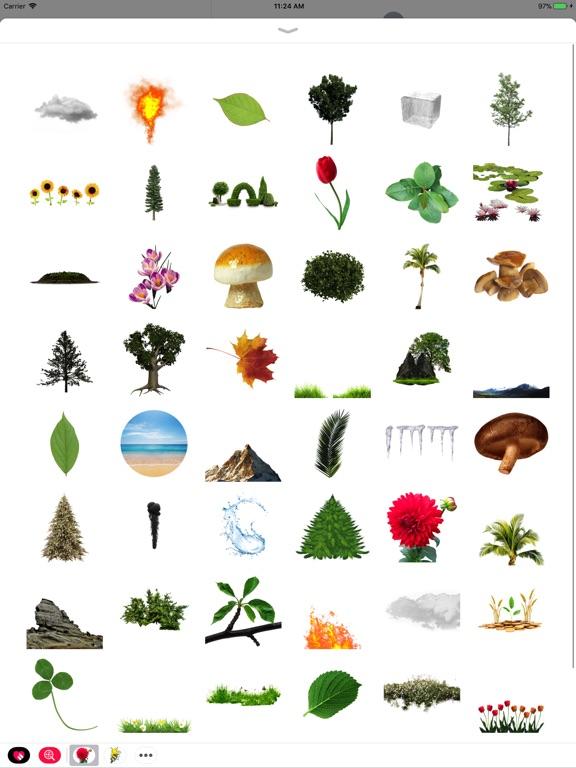 Fun Nature Stickers screenshot 6