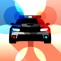 Police Lights and Siren ~ The best emergency flashing strobe lights and alarm sound