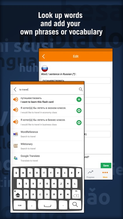 Learn Russian - MosaLingua screenshot-3