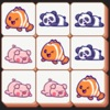 かわいい動物のマッチ: のんびり楽しめるゲーム