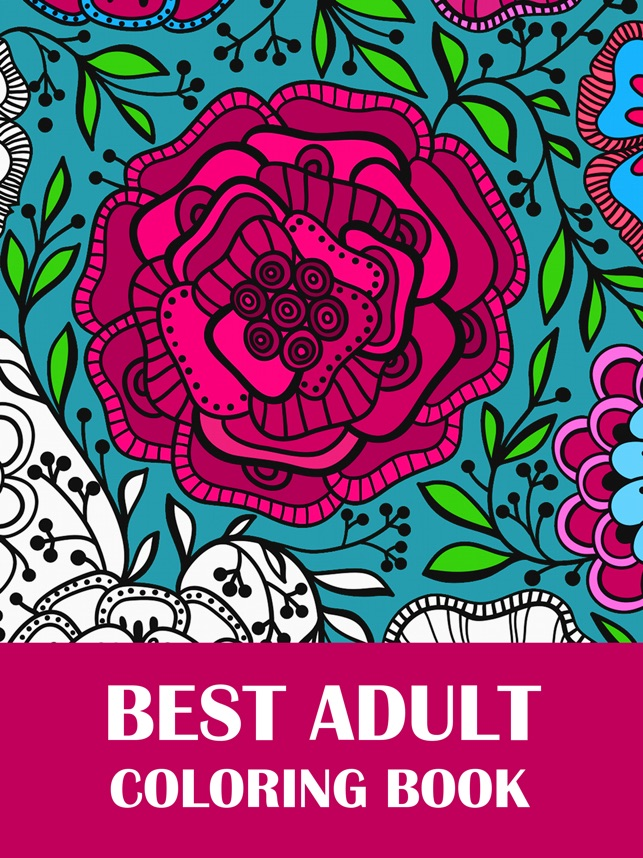 Coloring Book For Adults On The App Store