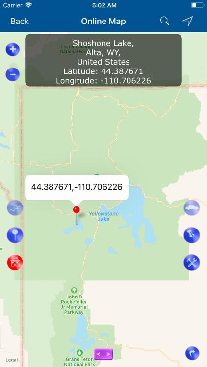 Yellowstone National Park Map! screenshot-3