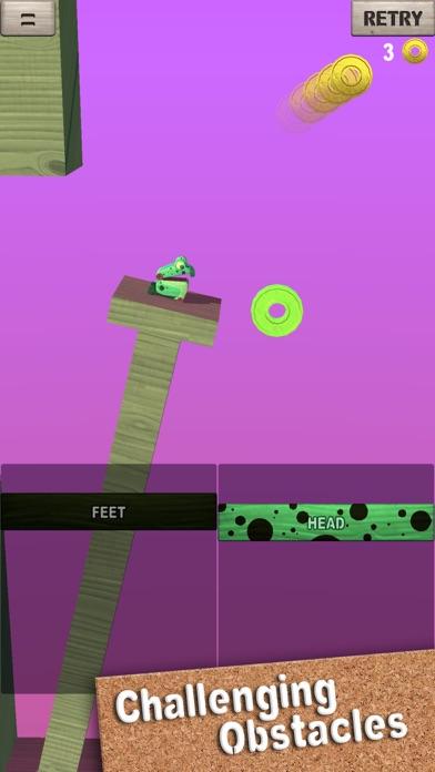 Screenshot 2 Wobble Frog Adventures