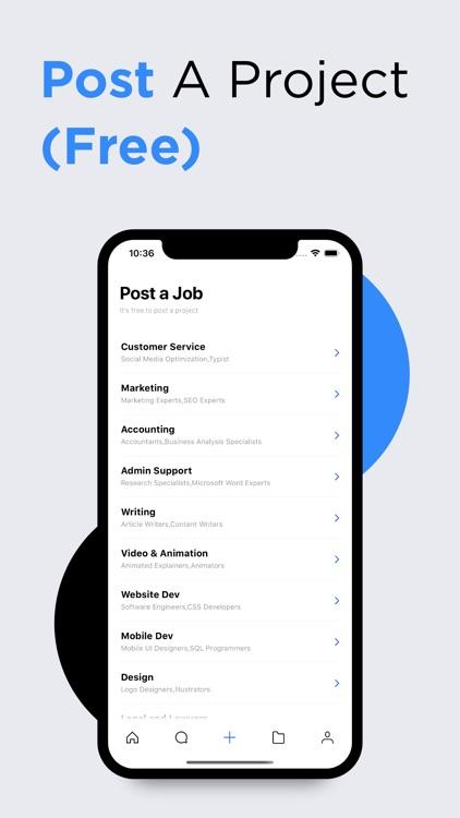 24Task Hire & Find Freelancer screenshot-7