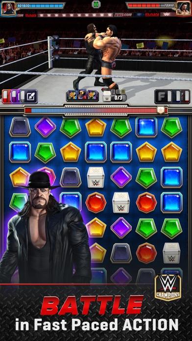 WWE Champions - Puzzle Game screenshot 1