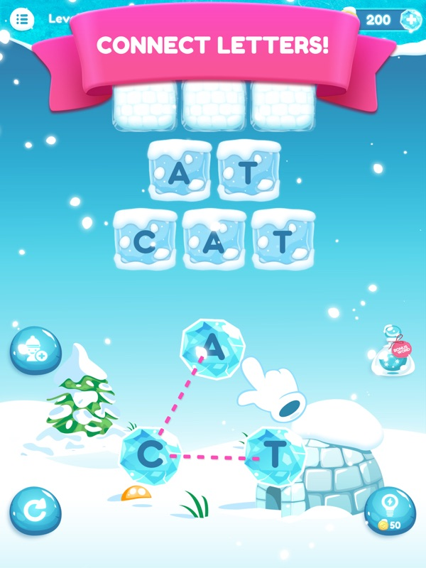 photo about Frozen Word Searches called Term Frozen - On-line Match Hack and Cheat