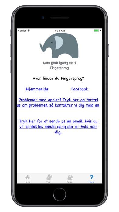 Screenshot for Fingersprog in Denmark App Store