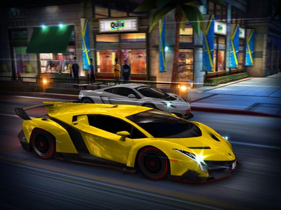 CSR Racing iPad app afbeelding 1