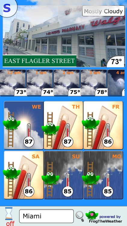 Weather Frog screenshot-4