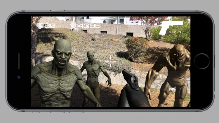 Zombie Attack AR In Reality screenshot-9