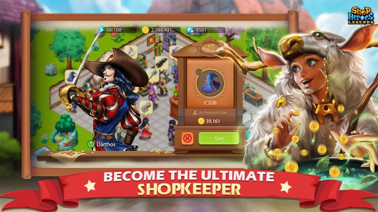 Shop Heroes Legends