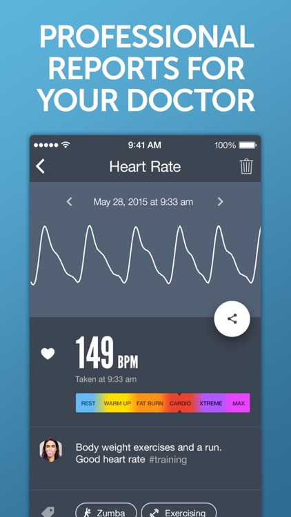 Instant Heart Rate: HR Monitor screenshot-3