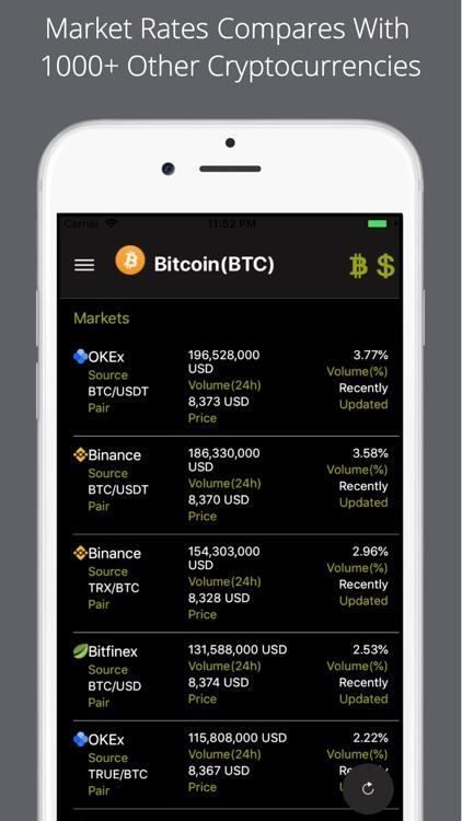 Bitcoin Price Pro screenshot-4