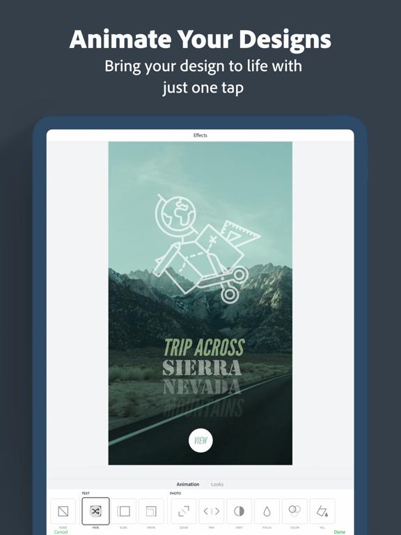 Adobe Spark Post – Create stunning graphics screenshot