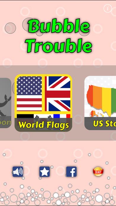 点击获取World Flags : Bubbles