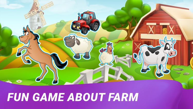 Farm Animals: Toddler Games 3+ screenshot-5