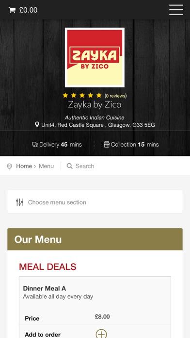 Zayka By Zico Glasgow screenshot two