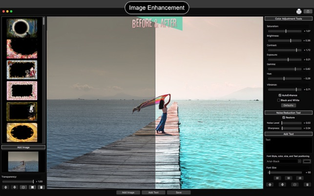 photo editing mac add text