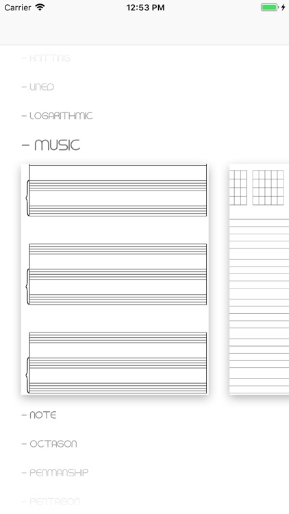 Printable Paper Templates screenshot-4