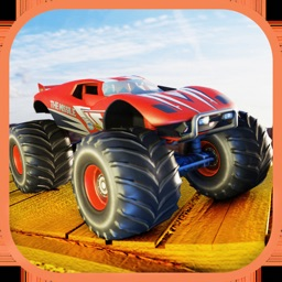 Monster Truck Hill Dash Race
