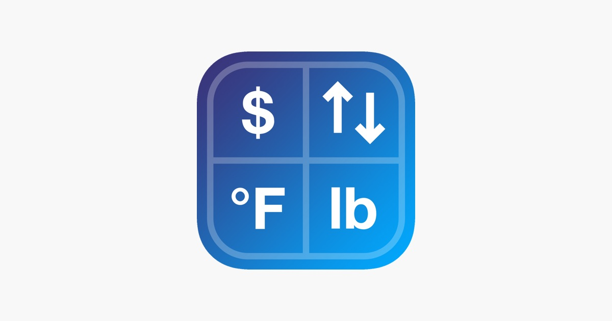 Convert Any Unit On The App Store