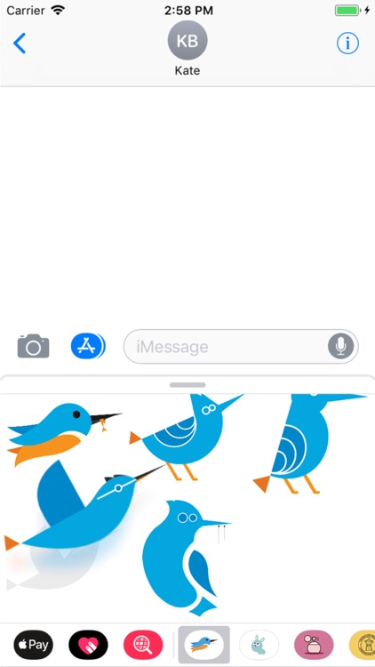 Savage Bird Stickers