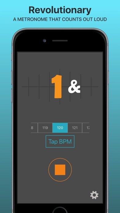 SpeakBeat Metronome - 1 2 3 4 Screenshots