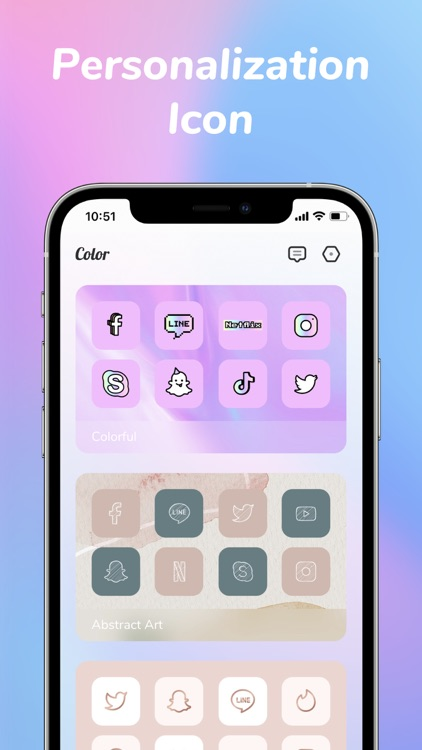 Colorful Widget: screen theme screenshot-6