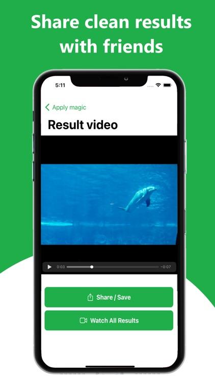 ByeNoise - Denoise Video Audio screenshot-3