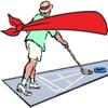 Blindfold Shuffleboard