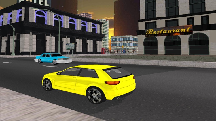 City Taxi Car Driver Simulator